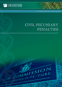 Civil Pecuniary Penalties - Issues Paper 33 - Cover